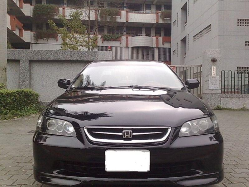 Honda中古汽車/本田中古汽車,Accord中古汽車/雅哥中古汽車,正2000年HONDA 本田 ACCORD 雅哥 K9 2.0 魚眼大燈 雙出排-圖片1