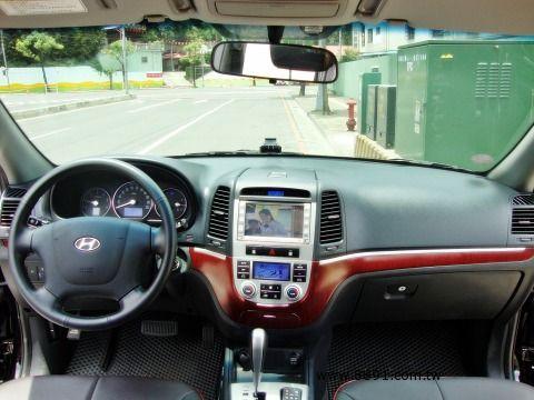 Hyundai中古車/現代中古車,Santa Fe中古車/聖塔中古車,09年 SANTAFE 實跑9千多公里 2.2柴油引擎 省油 省稅金 女用一手車-圖片6