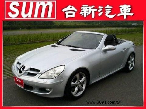 Benz中古車/賓士中古車,SLK 350中古車,SLK 350中古車,SUM【台新汽車】2005年型中華總代理 SLK350 敞篷車-圖片4