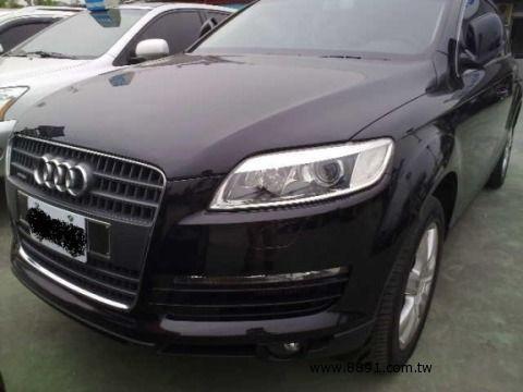 Audi中古車/奧迪中古車,Q7中古車,2007年柴油 Q7 3.0 AUDI 7人做最舒適的車 -圖片1