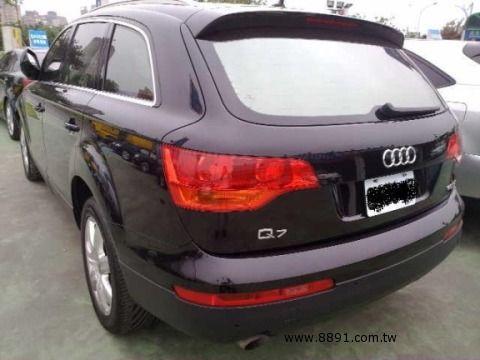 Audi中古車/奧迪中古車,Q7中古車,2007年柴油 Q7 3.0 AUDI 7人做最舒適的車 -圖片5