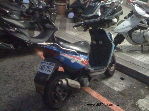 Yamaha中古車/山葉中古車,BWS中古車,自售  BWS  100     $20000-圖片3