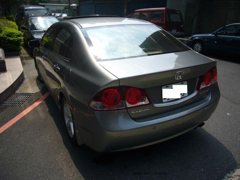 Honda中古汽車/本田中古汽車,Civic中古汽車/喜美中古汽車,自售超省油行駛超安靜.新車價76.9萬的喜美八代k12.最頂級hid.雙安-圖片3