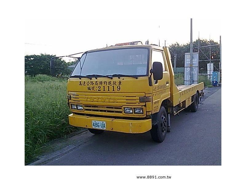 Toyota中古汽車/豐田中古汽車,Dyna中古汽車,豐田 黛娜 7.4頓全載式拖吊車割讓-圖片1
