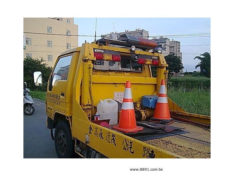 Toyota中古汽車/豐田中古汽車,Dyna中古汽車,豐田 黛娜 7.4頓全載式拖吊車割讓-圖片3