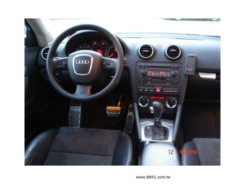 Audi中古車/奧迪中古車,A3中古車,【上穩汽車】2005年 AUDI A3 2.0T 全景天窗 S3大包 僅4.2K-圖片3