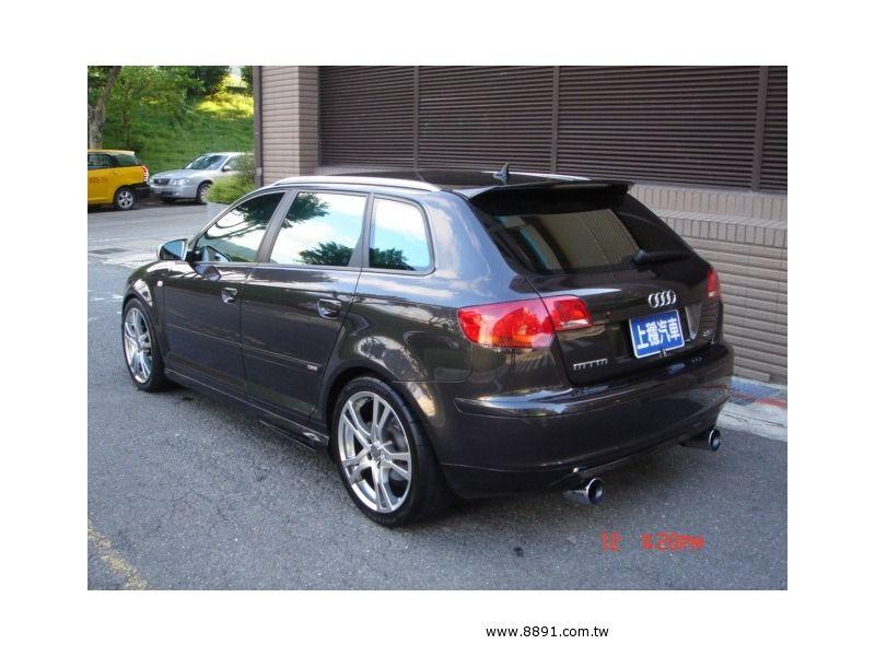 Audi中古車/奧迪中古車,A3中古車,【上穩汽車】2005年 AUDI A3 2.0T 全景天窗 S3大包 僅4.2K-圖片5