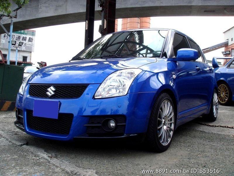 Suzuki中古車/鈴木中古車,Swift中古車/思維特中古車,<時尚小車>SUZUKI SWIFT 頂級 T3大包-圖片1