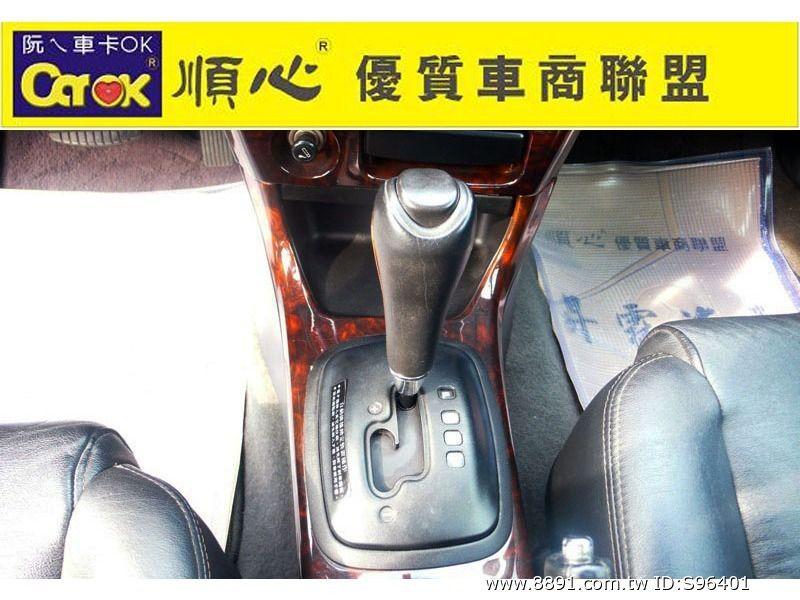 Mitsubishi中古車/三菱中古車,Lancer中古車/菱帥中古車,昇霖汽車 1999 LANCER 1.6 恆溫.電動椅. 手自排 順心優質認證車-圖片6