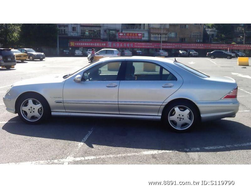 Benz中古車/賓士中古車,S500中古車,AMG MLEEMANN 賓士s500 全車改裝s55  馬力十足 (自售)-圖片3