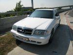★財神車業優質精選1999年BENZ W202 C230K白色★
