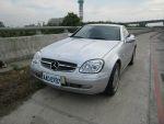 @財神精選1998年式Mercedes Benz SLK230銀色純跑11萬@