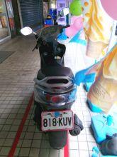 行李廂大 車牌818 光陽機車銀色 125cc