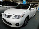 【祐慶汽車】TOYOTA ALTIS 2012小改款 恆溫 E版白色 可全貸