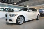 BPS BMW總代理 台北汎德原廠認證中古車 M款套件 120d 白色