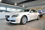 BMW總代理 BPS 台北汎德原廠認證中古車 四門轎跑 640i GC 白色