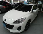 【祐慶汽車】Mazda3 白色 2.0頂級 一手車 DVD 天窗