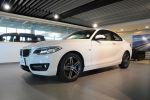 BMW總代理 BPS 台北汎德原廠認證中古車 雙門跑車 220d 白色