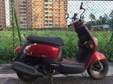 高雄市CUXI噴射版,停室內/女用車少騎/自售/0事故