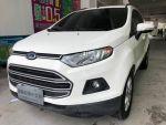 福特原廠認證中古車-台南 2013年出廠領牌 ECOSPORT 1.5