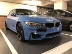 【易達】正2016 年 BMW M3 利曼藍 俗稱的小叮噹配色!!!