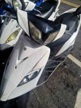 山葉 GTR125白色 化油版