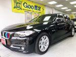BMW 520d LCI 免鑰匙 M方向盤 HK音響 保固中 2016 益誠汽車