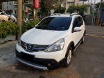 新款 LIVINA 1.6白色五門小休旅正2014出廠 全車無傷  高雄麻吉課長