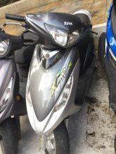 2008年9月出廠 三陽 高手 125 中古車 銀灰色