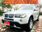 福利乾隆汽車-烏日旗艦店2007年E83 BMW X3 3.0I 總代理 小改款