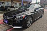 2016年式 C300 AMG 黑色/黑皮...