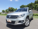 【最頂級10顆氣囊,全時四輪傳動!】2012年 VW 小改款TIGUAN 柴油