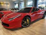 總代理~Ferrari  458 ITALIA. 車美如新.全車100%原版件