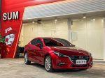 【日瓏車業】2016  Mazda3 4D 混動紅 抬頭顯示 電子手煞 原廠導航
