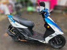 自售 三陽RX110 藍白款