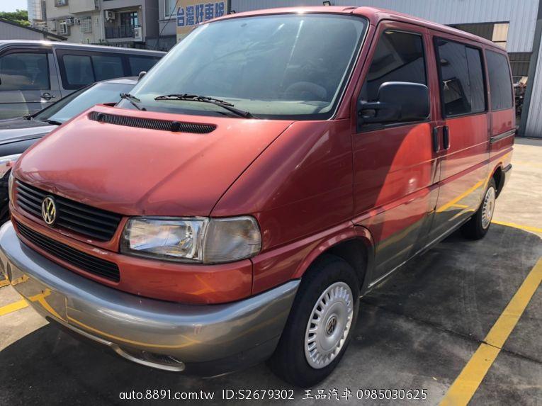 Volkswagen T4 1999款 手排 2.5L